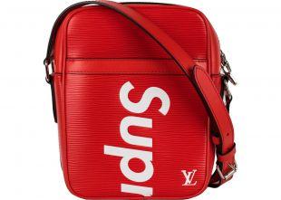 Louis Vuitton x Supreme Danube Epi PM Red