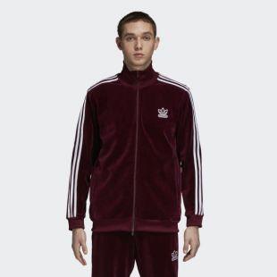 La veste de survetement Adidas en velours portée par Mister