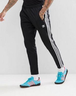 Le jogging noir Adidas porté par Gotaga sur le compte