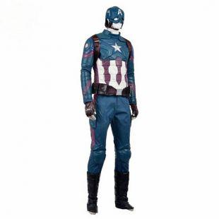 Captain America Vengeurs MCU Cosplay Costume avec bouclier en option