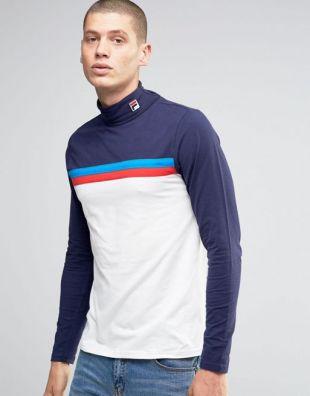 The sweater Fila turtleneck of Zahid (Nik Dodani) in