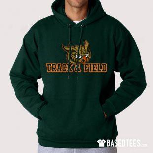 Sweat à capuche hiboux Track & Field et t shirt