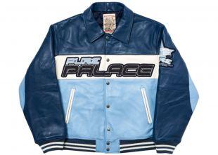 Palace Pure Palace Avirex Jacket Blue