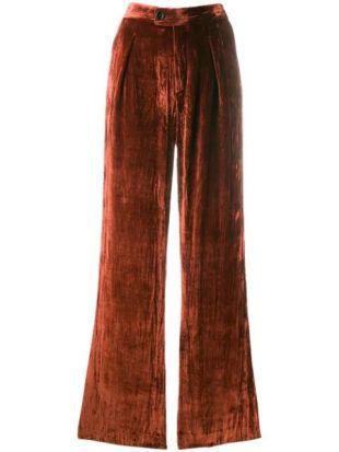 Chloé Pantalon Droit En Velours - Farfetch