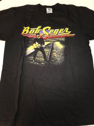 Bob Seger Rock & Roll Never Forgets Tour T Shirt