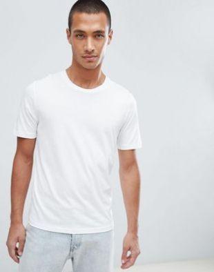 Selected Homme - The Perfect Tee - T-shirt en coton pima - Blanc | ASOS