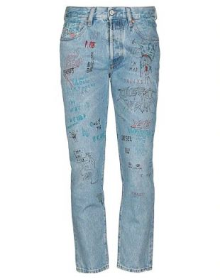 DIESEL Pantalon en jean - Jeans et Denims | YOOX.COM