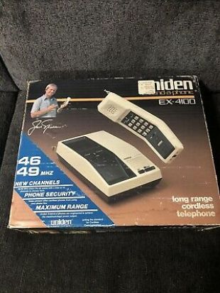 New Uniden EX-4100 Vintage Long Range Cordless Telephone w/Privacy Code  | eBay