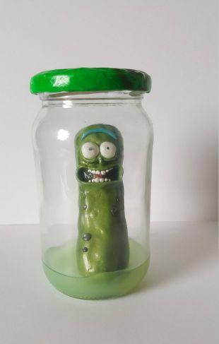 The replica Pickle Rick in Rick and Morty season 3 episode 3