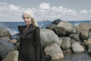 Games of Thrones Daenerys Westeros Dress   Dragon Scale Cosplay Costume