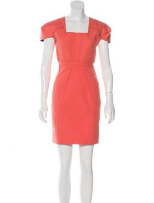 robe corail taille M