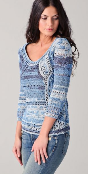 pull bleu taille XS