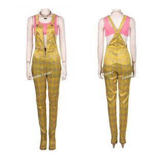 Gold Jumpsuit Worn By Harley Quinn Margot Robbie As Seen In Birds Of Prey And The Fantabulous Emancipation Of One Harley Quinn Spotern