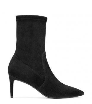 Black Suede Wren Boots