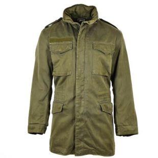 Original autrichien BH armée combat veste de manteau OD militaire olive terne parka surplus militaire