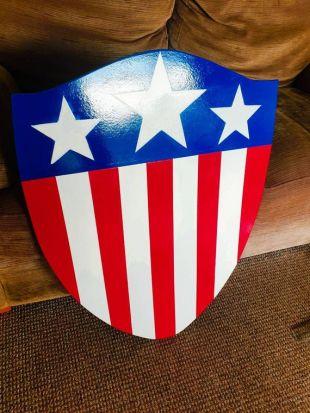 Capitaine Amérique réplique des années 1940 bouclier-1:1 Scale-de la première Avenger