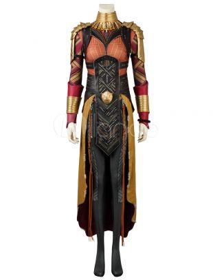 Costume de Cosplay Halloween Okoye de la Panthère noire