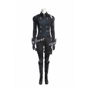 Les Vengeurs Marvel Black Widow Cosplay Costume