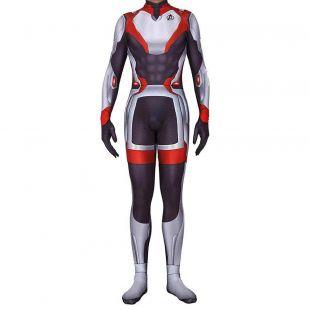 Avengers 4 Endgame Captain America Thor Quantum Realm Combinaison Cosplay Costume