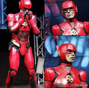 Flash Costume homme Justice League réplique Superman Batman merveille femme Zoom super héros DC Comics Barry Allen mousse armure Costume Cosplay