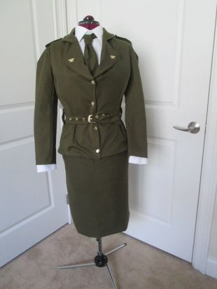 Costume de Peggy Carter; Uniforme militaire de la seconde guerre mondiale; Cosplay; Tenue de 1940; Tenue militaire des femmes; Cosplay de Marvel; CAPTIN Amérique