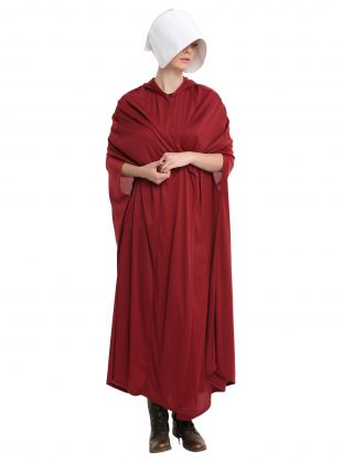 The Handmaid's Tale Cosplay Cape & Bonnet