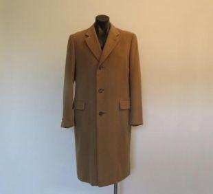 Manteau cashmere vintage Homme par Chester Barrie - Large