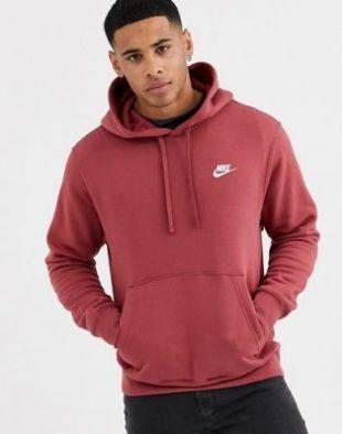 Nike - Club - Hoodie - Bordeaux | ASOS