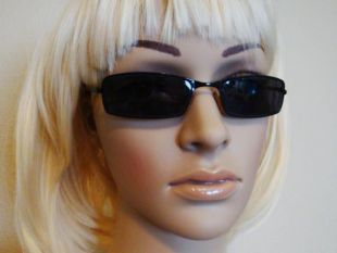 Vintage Kenneth Cole Sunglasses, Black Metal
