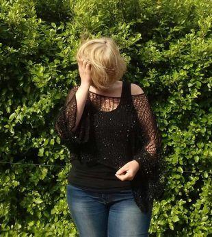 Haut recadré noir, partie gothique couvrir grunge fin maille crop top, surdimensionné élégant boho vêtements femmes tricot erre-off-the-shoulder pull