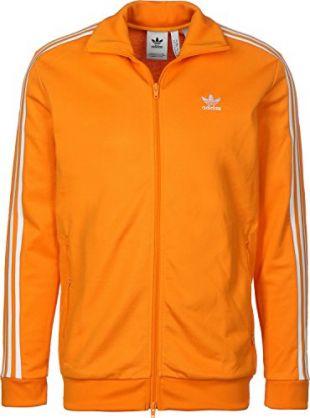 adidas Beckenbauer TT–Veste, Homme, Orange (narbri)