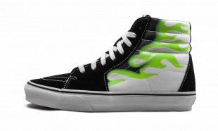 Vans Sk8 Hi Flamme Sneaker porté par Behati Prinsloo