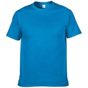 t-shirt bleu azur