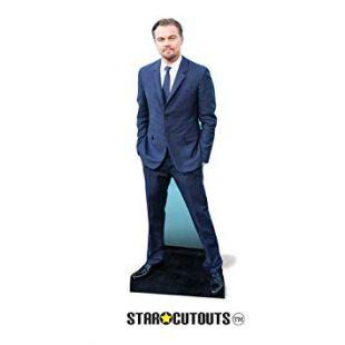 Star cutouts -  Figurine Géante - Leonardo Di Caprio - 186 Cm Taille Unique