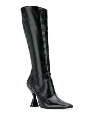 Stainless Lace Up Boots