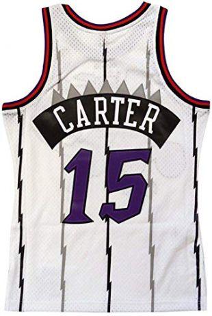 Toronto Raptors Vince Carter 1998 Road Swingman Jersey