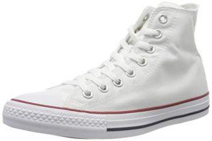 Converse Optical White M7650 - HI TOP, 6 Women / 4 Men