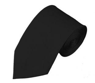 NYfashion101 Mens Solid Color 7 cm Slim Tie