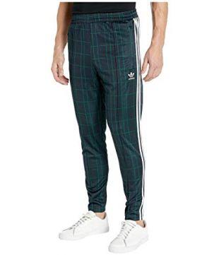 adidas Originals Tartan Track Pants Multicolor/Collegiate Navy SM