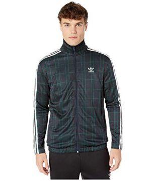 adidas Originals Tartan Track Jacket Multicolor/Collegiate Navy MD