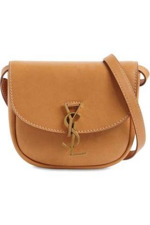 Medium Kaia Leather Shoulder Bag