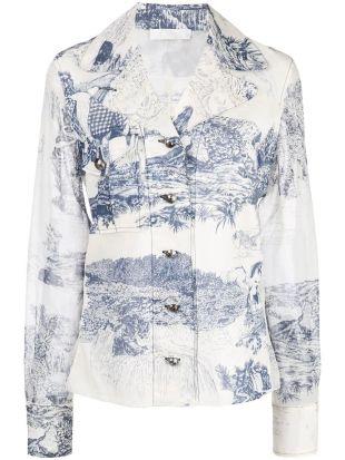 Willow Print Shirt
