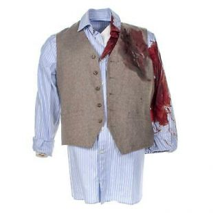 Knives Out Harlan Christopher Plummer Screen Worn Vest & Shirt Ch 1 Sc 5 89-90