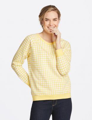 Gingham Sweatshirt
