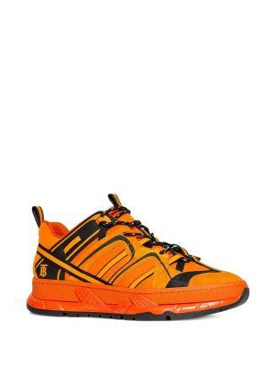 Orange 'Union' Sneakers