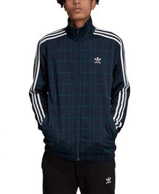 adidas adidas Men's Originals Plaid Track Jacket & Reviews - Coats & Jackets - Men - Macy's