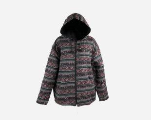 Hippie Zip up Hoodie - style vintage, Sweatshirt Hoodie, Pull jumper Hipster, Veste Festival Unisex, Vêtements aztèques tribaux pour Noel
