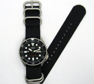 montre vintage perle soufflé finition seiko skx mod mens plongeur montre skx007 nh36a saphir double dôme option