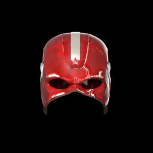 Red Guardian Helmet - Black Widow Movie