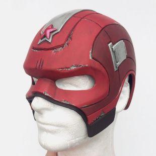 Red Guardian Helmet Foam PATTERN / TEMPLATE